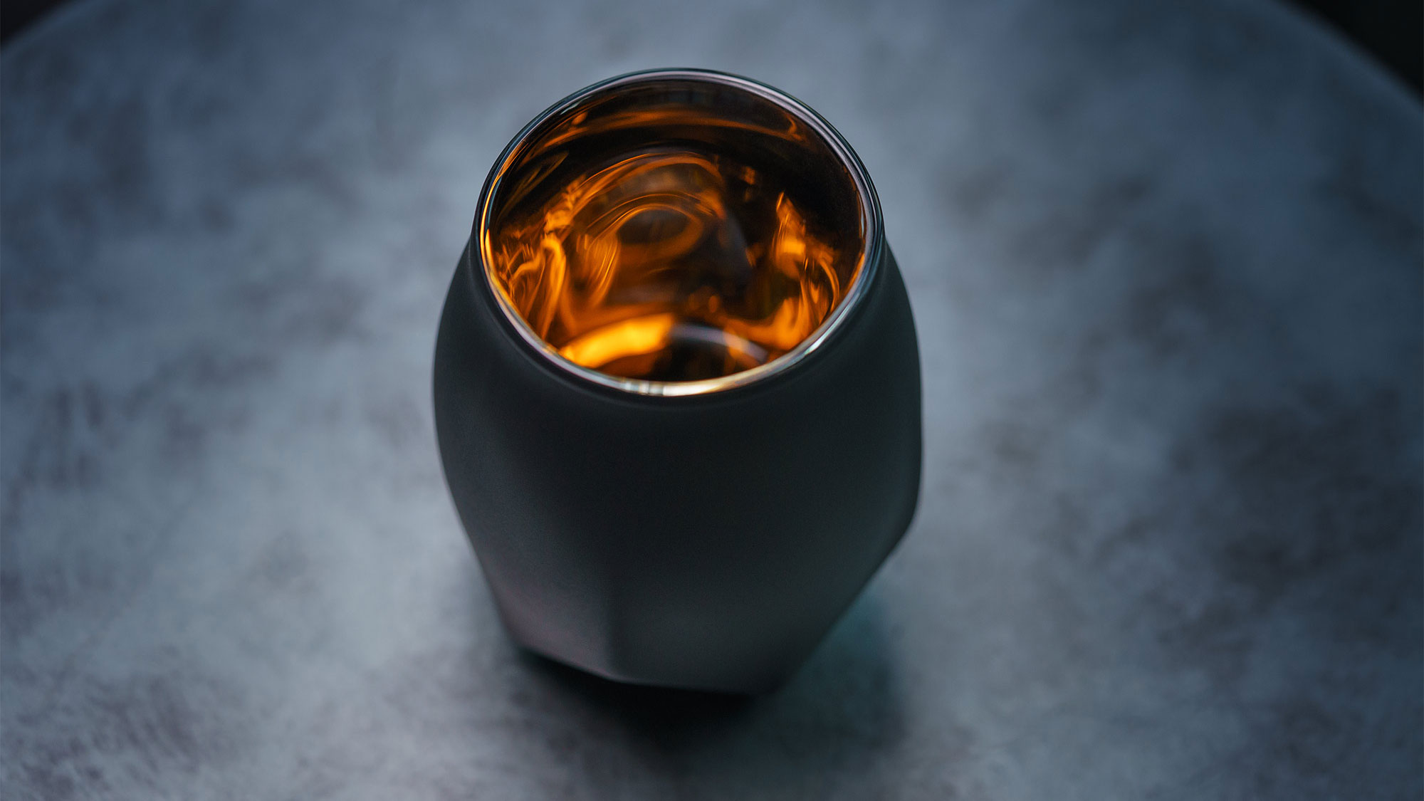Norlan BlackWhisky Glass